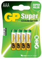 Baterie GP Super LR03 (AAA) 4ks v blistru
