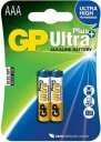 Baterie GP Ultra Plus alkaline LR03 (AAA) 2ks v blistru