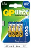Baterie GP Ultra Plus alkaline LR03 (AAA) 4ks v blistru